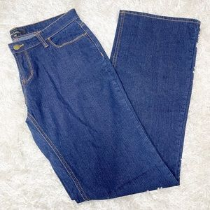 Daisy Fuentes Mid Rise Dark Wash Bootcut Jeans